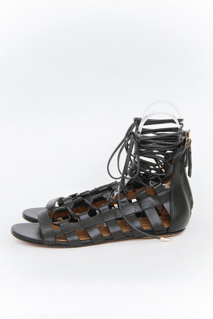 AMAZON CAGED SANDALS