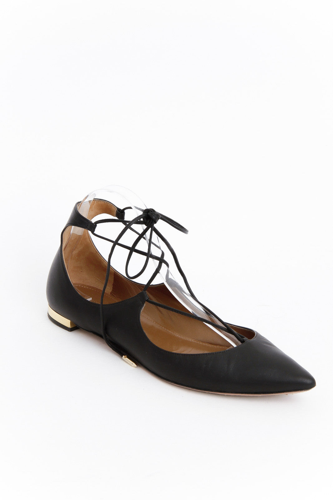 CHRISTY POINTED TOE FLATS