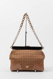 SEMITRACOLLA STRAW PURSE