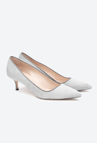 POINTED TOE SATIN MULE