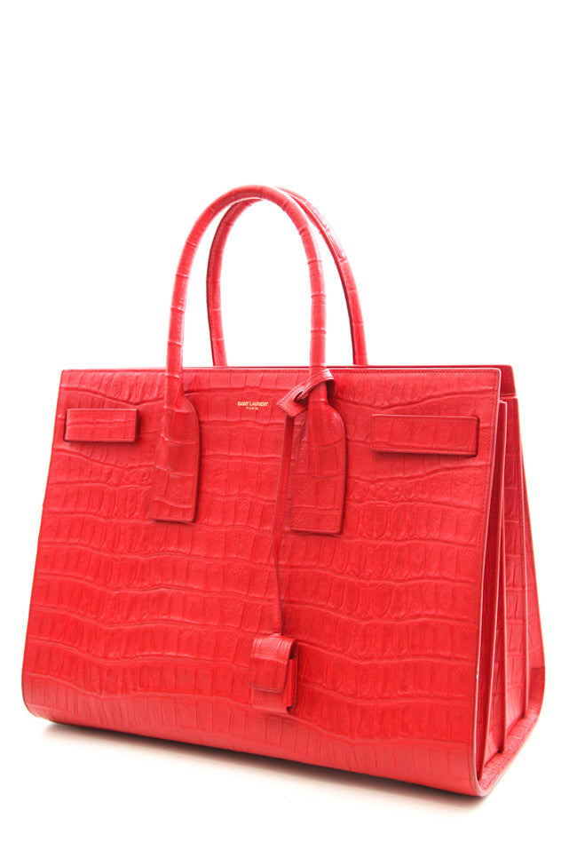 RED CROC SAC DU JOUR PURSE