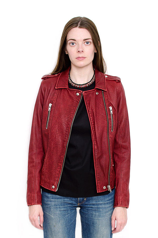 BARBY LEATHER JACKET