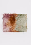 FALL 2017 FUR CLUTCH WITH TAGS