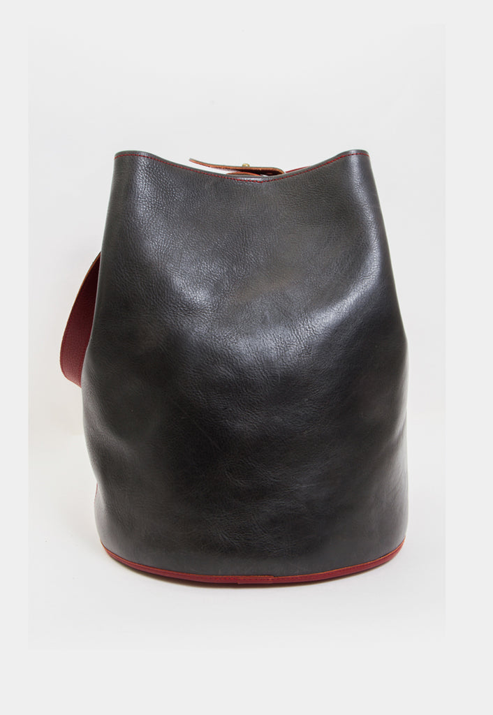 BICOLOR BUCKET BAG