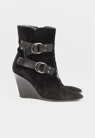 ROUNDED ANKLE BOOT