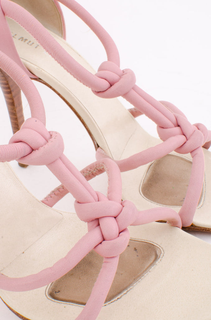 KNOTTED STILETTO