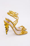 SNAKE HEEL STILETTO
