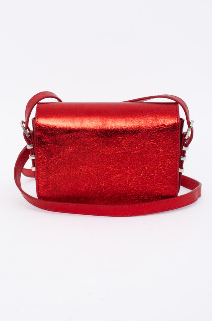METALLIC LOU BAG