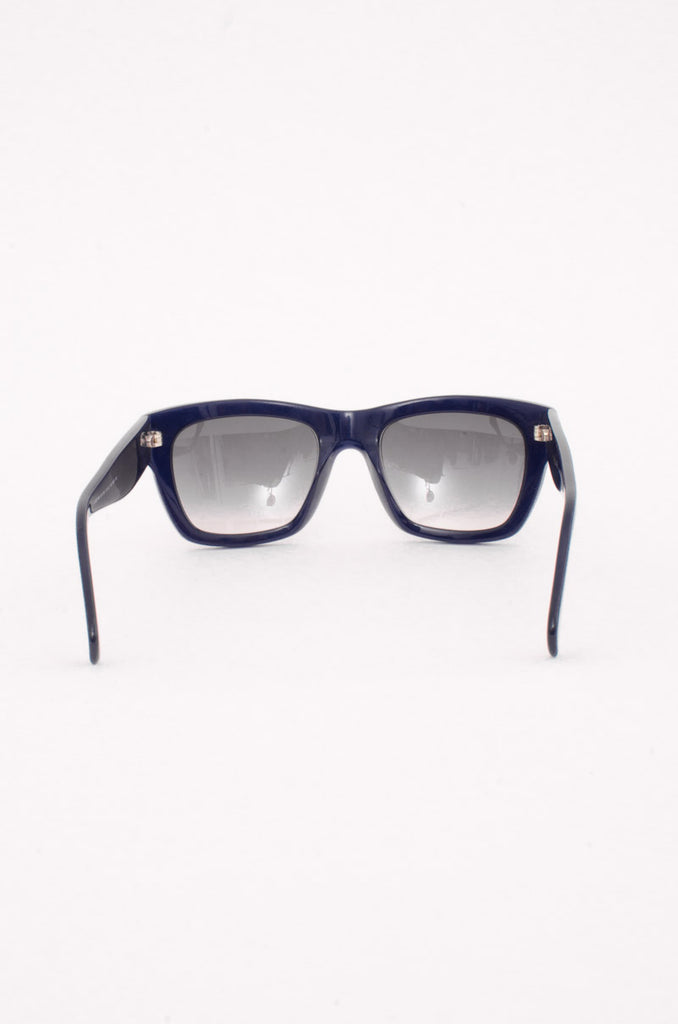 NAVY SQUARE SUNGLASSES