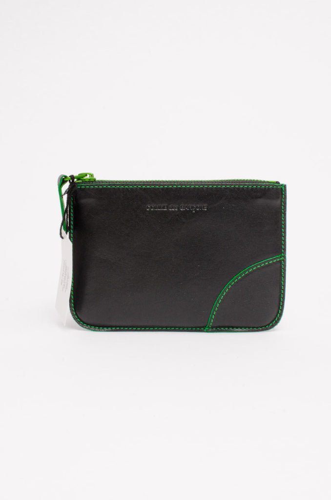 MARVELOUS STITCHED WALLET WITH TAGS