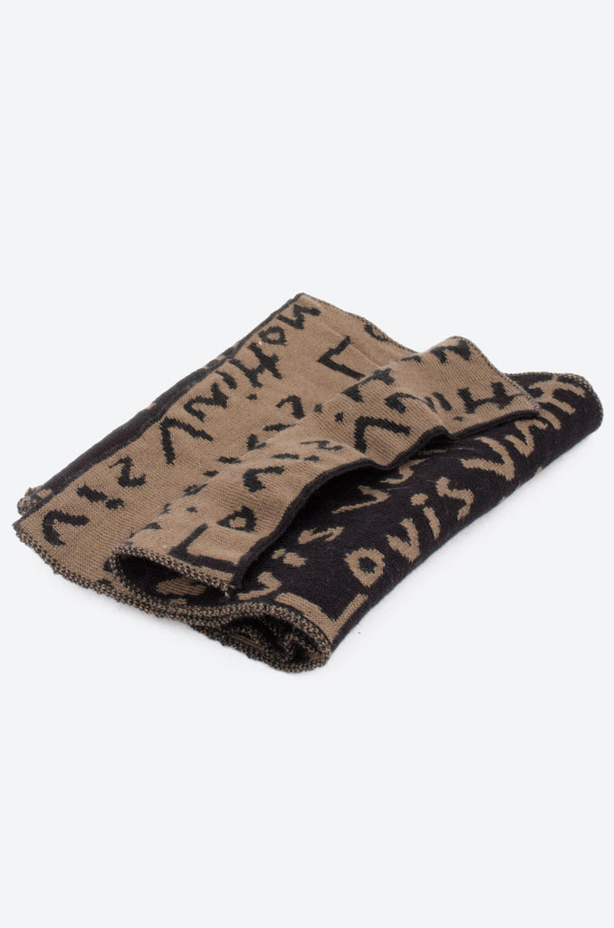 GRAPHIC KNIT SCARF