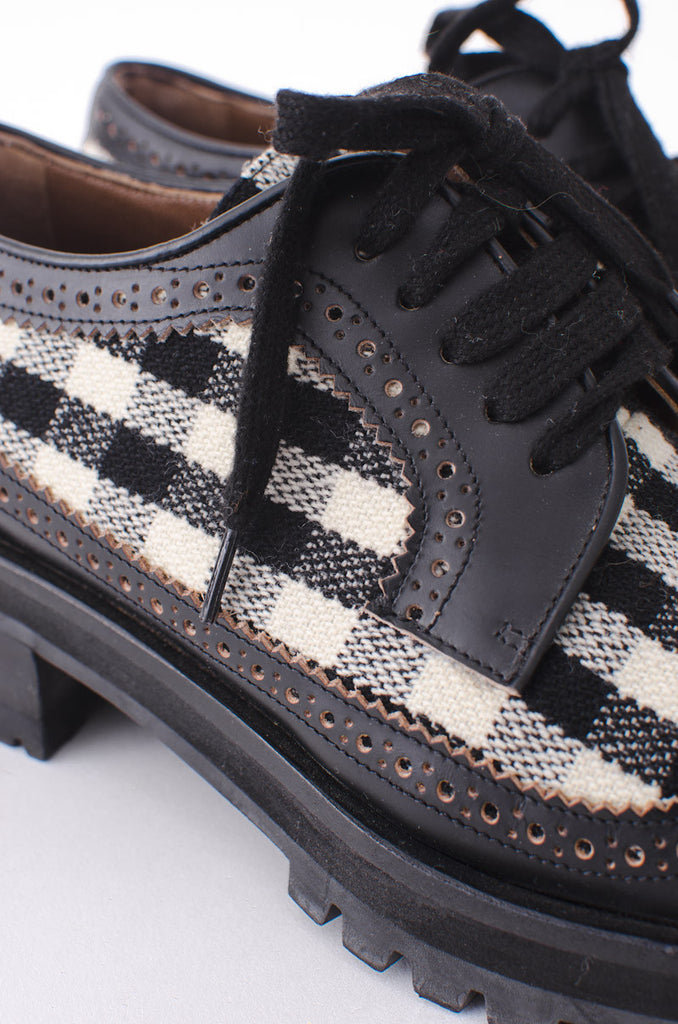 VINTAGE GINGHAM OXFORDS