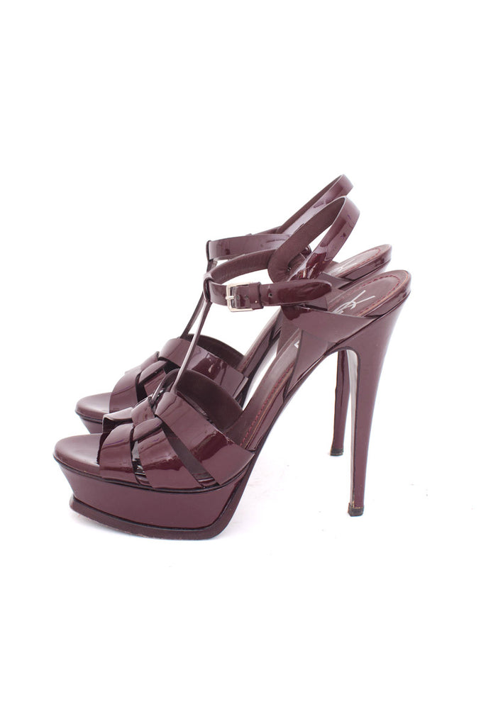 BURGUNDY TRIBUTE PLATFORMS