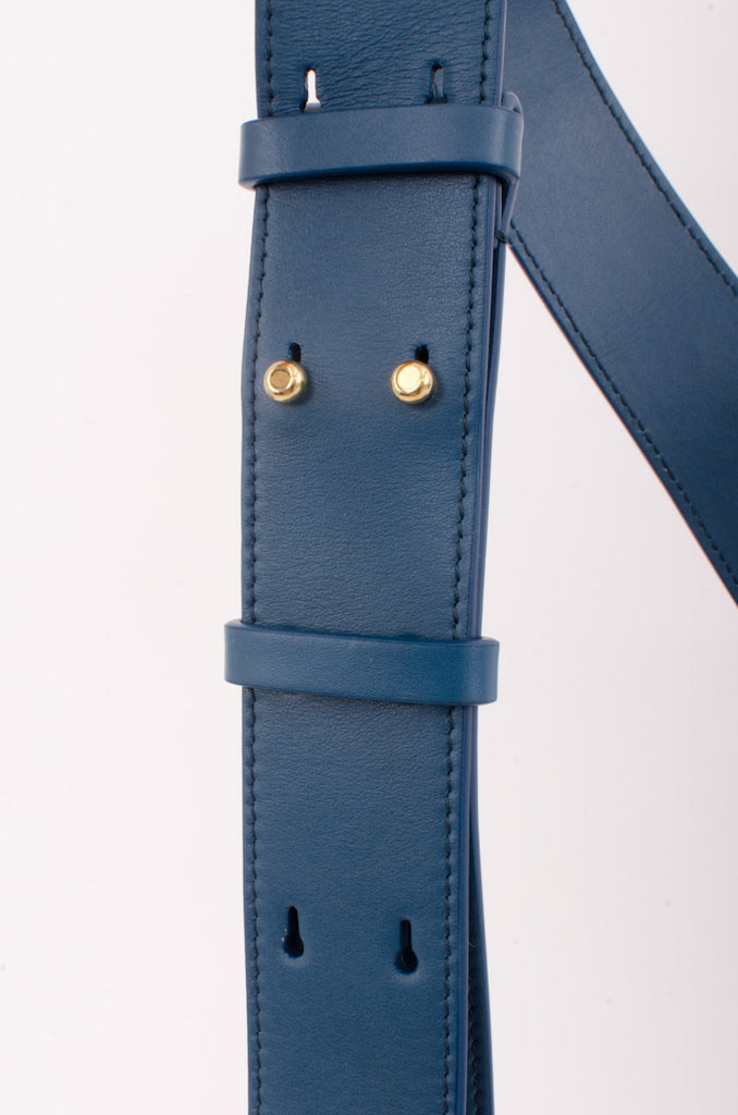 TESS SMALL BLUE CROSSBODY BAG