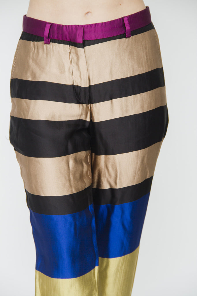 PACE STRIPE TROUSERS