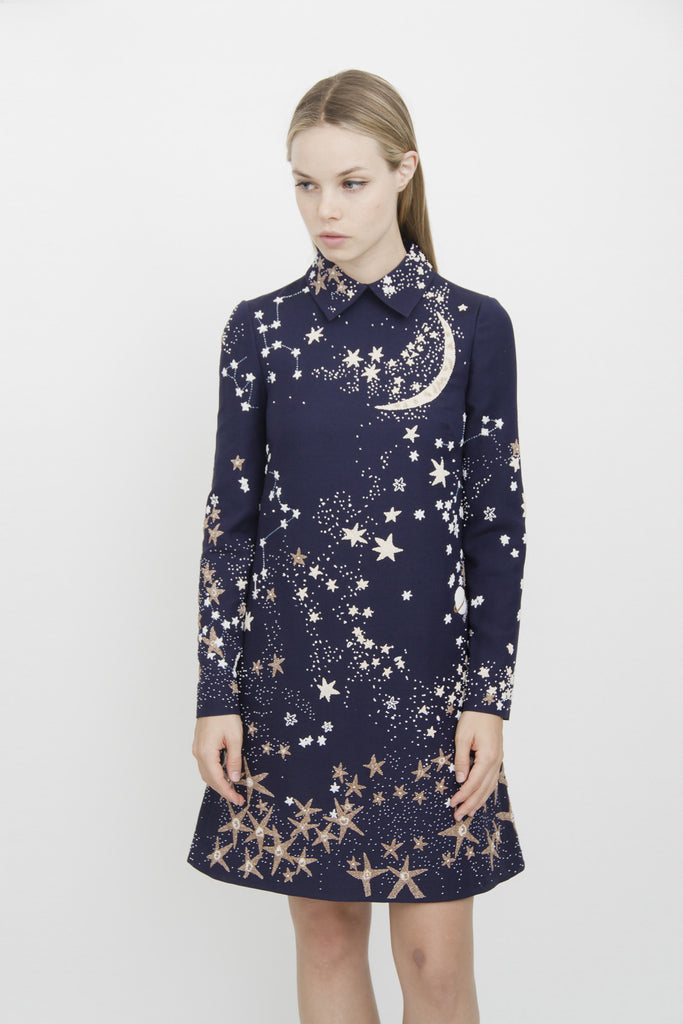 BEADED GALAXY DRESS