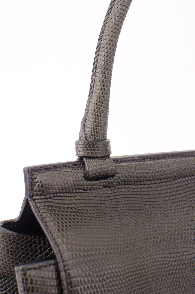 LIZARD SHOULDER BAG