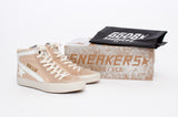 JACKELYN HIGH TOP SNEAKERS WITH TAGS