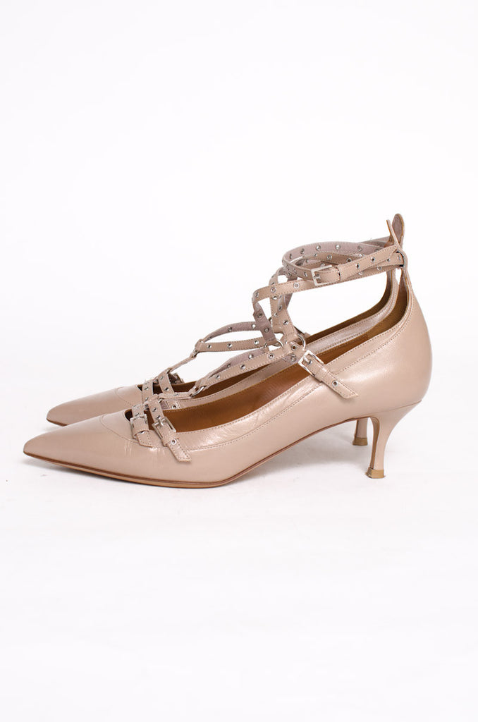 LOVE LATCH GROMMET HEELS