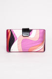 SILK PRINTED CLUTCH
