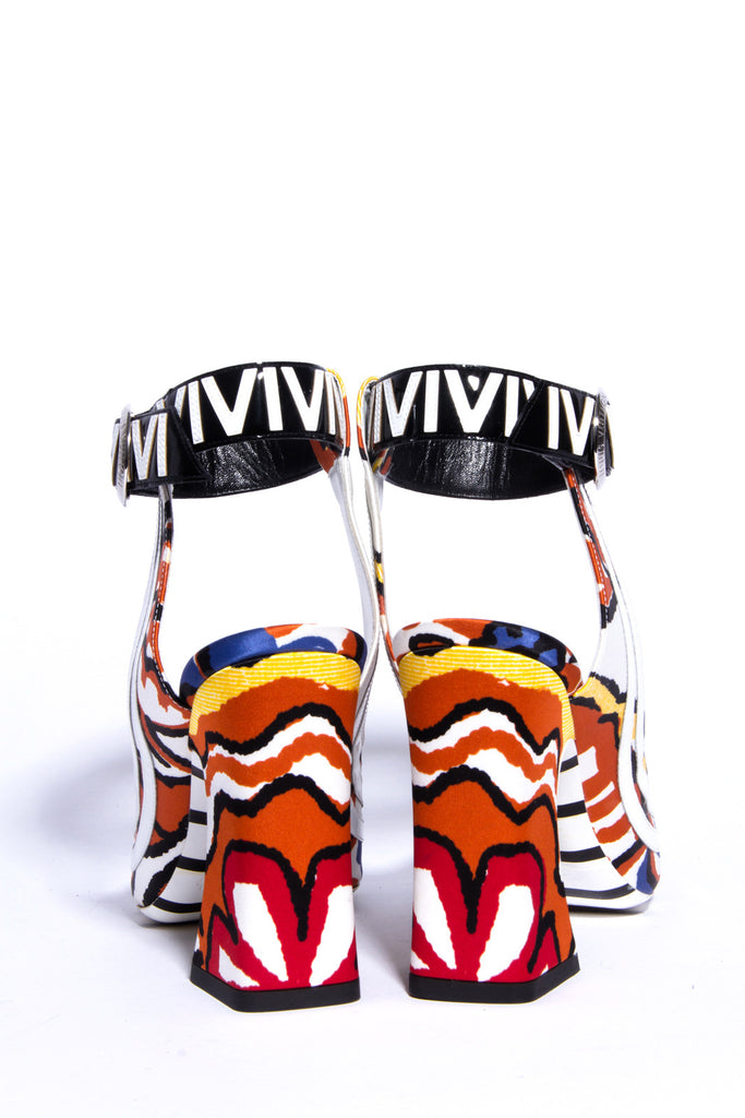 PSYCHEDELIC GRAFFITI HEELS