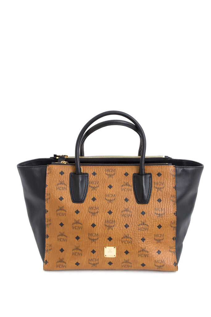 KATHY VISETOS MONOGRAM SHOPPER