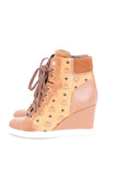MCM BY MICHALSKY MONOGRAM HIGH TOPS