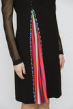 ARAPOVA RAINBOW PLEAT DRESS