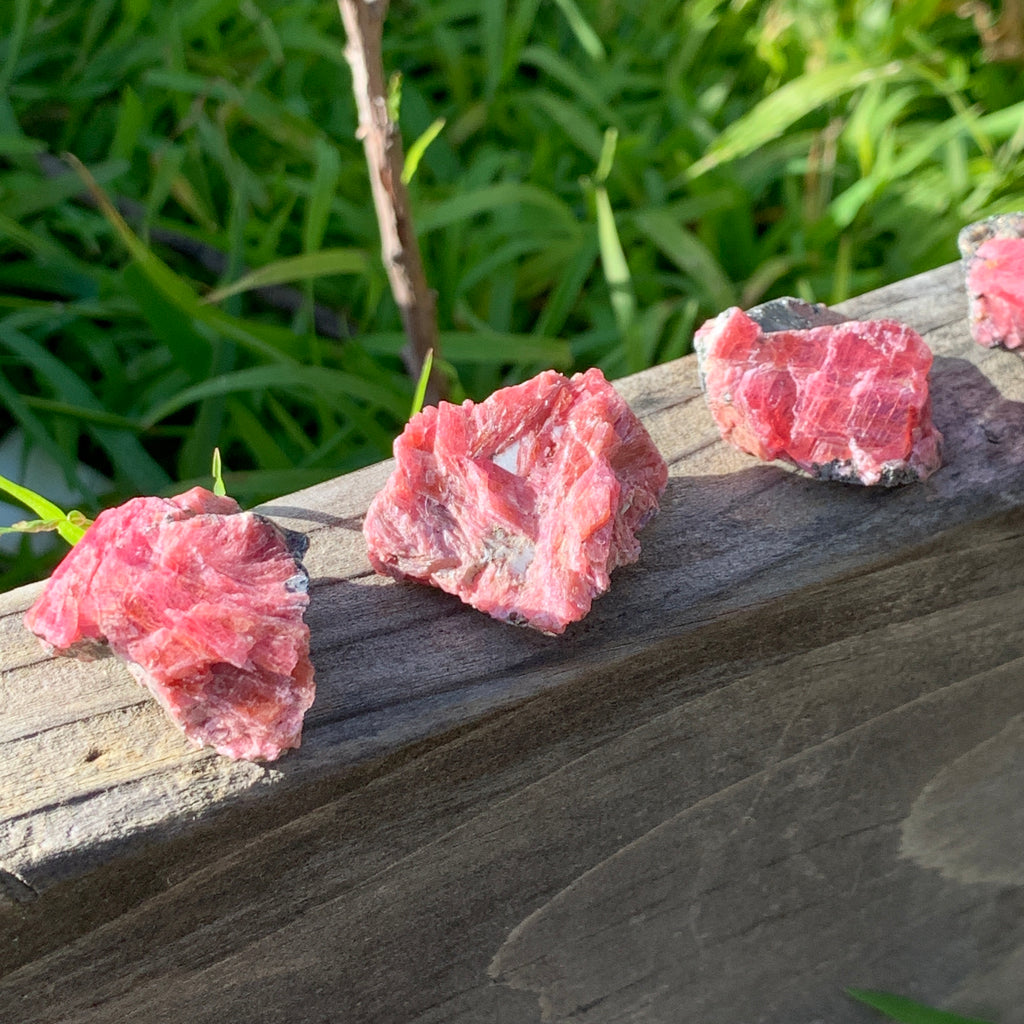 Pink Ruby Gemmy Shimmery Raw Crystal