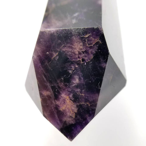 Black Amethyst Crystal Point 4""