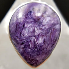 Charoite Crystal Pendant