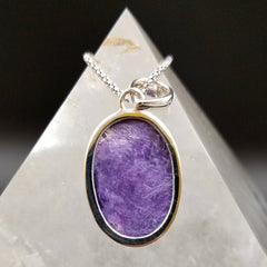 Charoite Third Eye Pendant