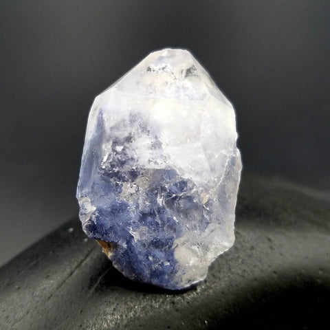 Dumortierite in Quartz Point