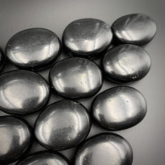 Shungite Palm Stone for EMF Protection