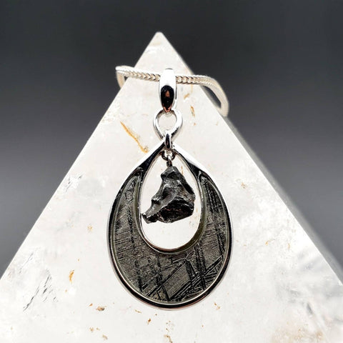 Gibeon Meteorite Flying Meteor Space Pendant