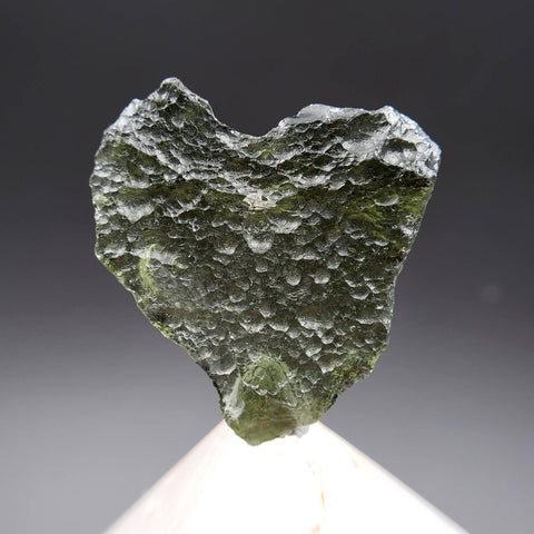 Moldavite Natural Heart Shaped Genuine Tektite