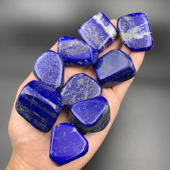 Lapis Lazuli Tumbled Stone for Intuition