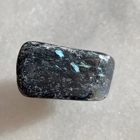 Blue Flash Nuummite Genuine Greenland Crystal