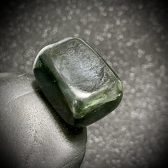 Dark Green Nephrite Jade Crystal