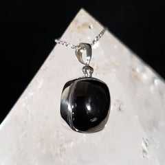 Elite Noble Shungite Silver Pendant