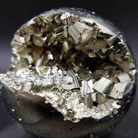 "Pyrite Sphere 2"" - Crystal Ball for Prosperity"