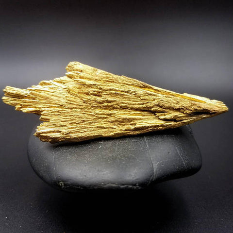 Gold Kissed Kyanite Wand 3.4""