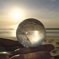 Clear Quartz Crystal Ball Sphere