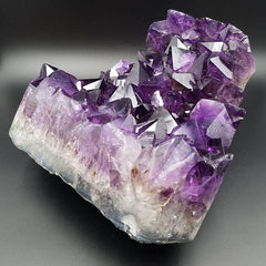 Stunning Amethyst Large Cluster