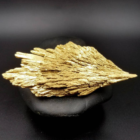 Gold Kyanite Angel Wand 3.3""
