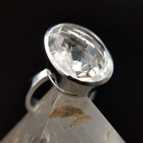 Quartz Energy Boosting Ring - Size 7
