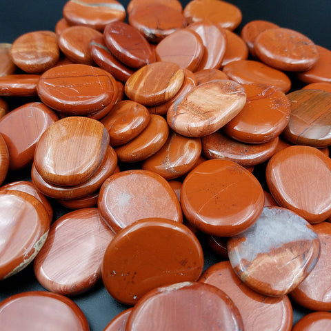 Red Jasper Pocket Stone