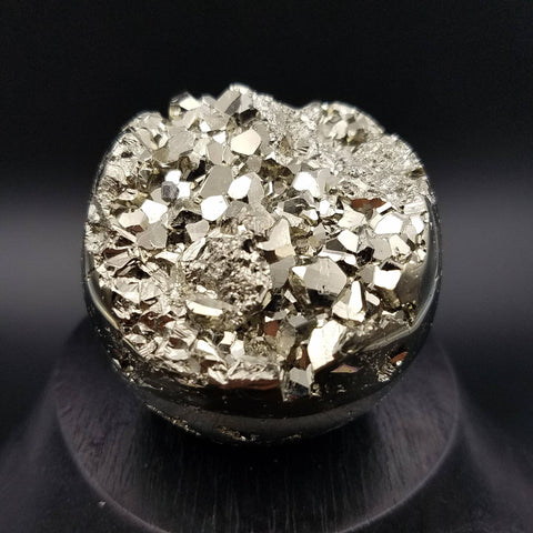 "Pyrite Sphere 2.1"" Crystal Ball Geode"
