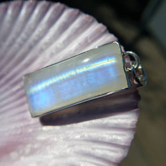 Beam Me Up Scotty Moonstone Pendant
