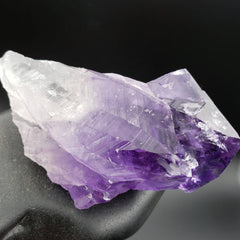 Amethyst Self Healed Point with Rainbows